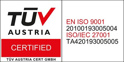 ISO TA logo 9001 & 27001
